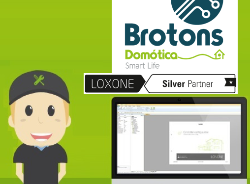 Brotons Domótica - Loxone Silver Partner
